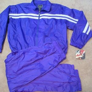 NEW OLD STOCK Vintage 90s HOLLOWAY Tracksuit Track
